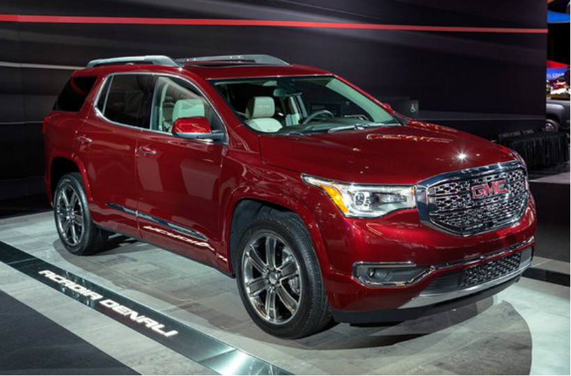 gmc acadia 2017 m s poderosa vision automotriz. Black Bedroom Furniture Sets. Home Design Ideas