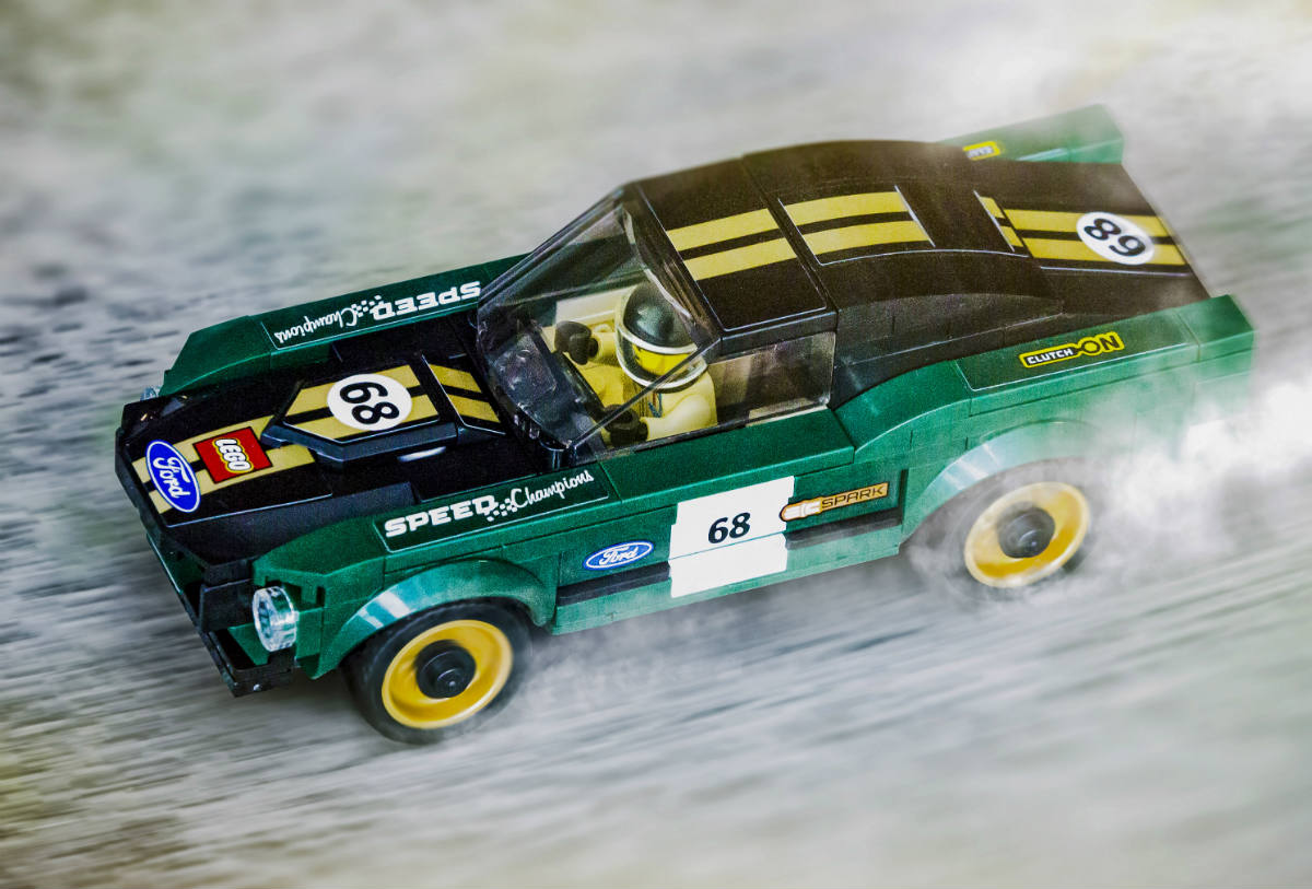 Mustang Fastback 1968 De Lego Speed Champions Vision