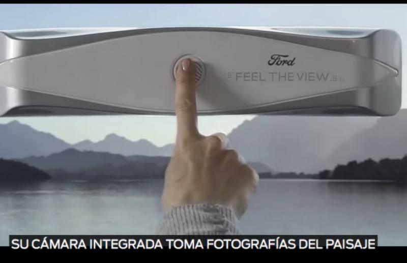 Ventanas inteligentes permiten que pasajeros invidentes sientan el paisaje