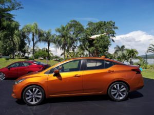 Nuevo Nissan Versa 2020 lanzmiento México lateral