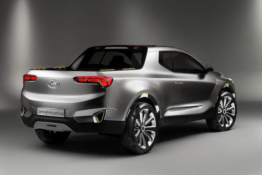 Hyundai da luz verde a la producción de su pick up mediana Santa Cruz