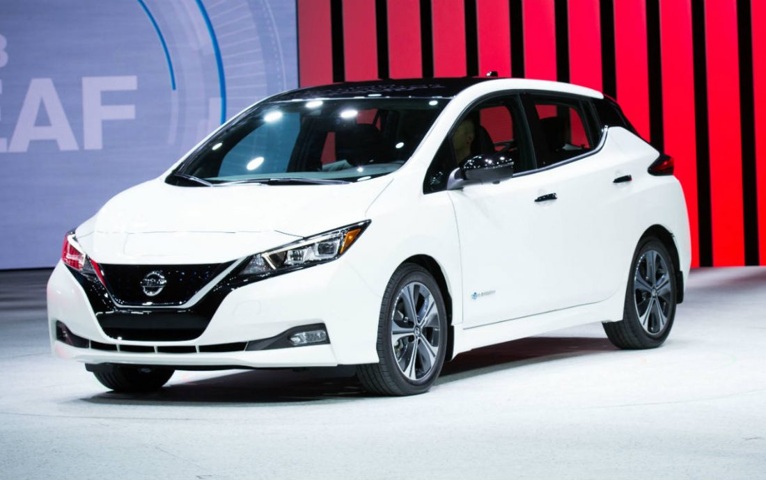 nissan leaf 2018 con mayor poder y rango de autonom a vision automotriz. Black Bedroom Furniture Sets. Home Design Ideas