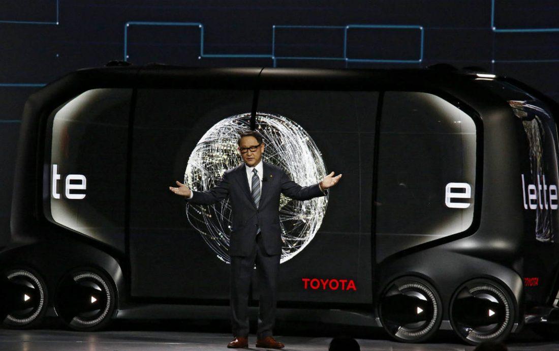 A van de entrega autônoma que já previu Black Mirror — E-Palette