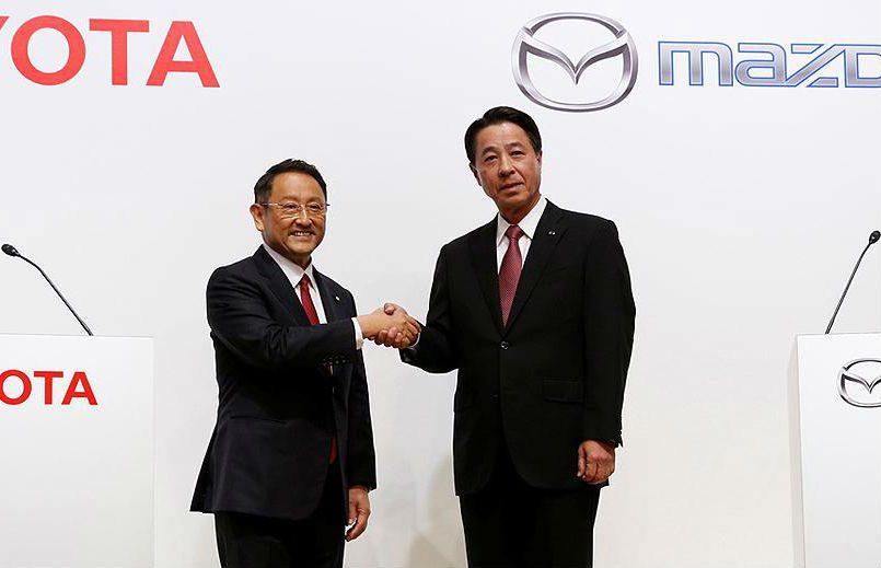 Toyota y Mazda construirán nueva planta en Alabama, EEUU