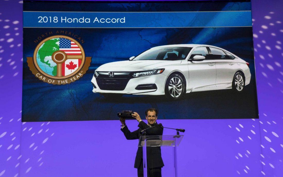 El Honda Accord es seleccionado Auto del Año en Estados Unidos