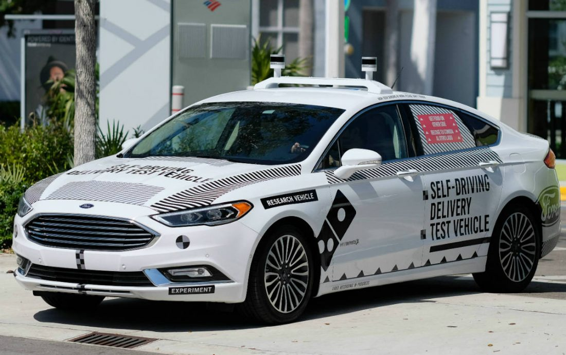 Ford eligió a Miami como su capital para los vehículos autónomos
