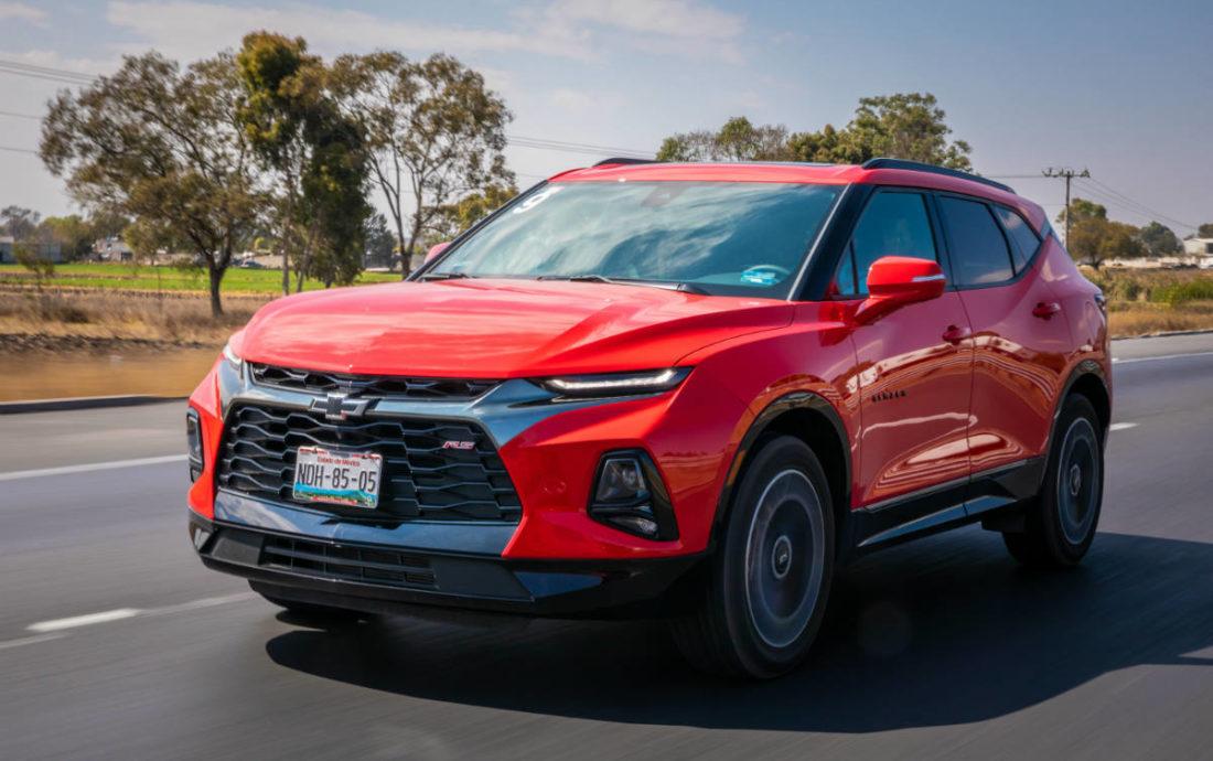 Chevrolet Blazer 2019, el primer golpe del año de General ...