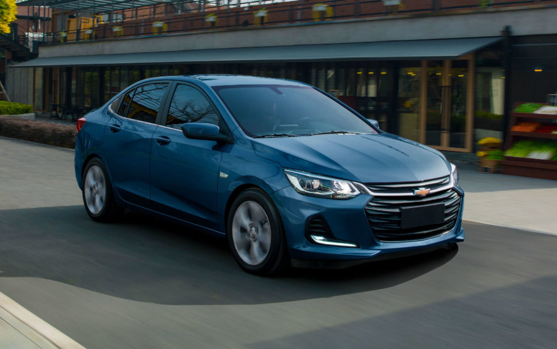 Sedán Chevrolet Onix se fabricará y venderá en México